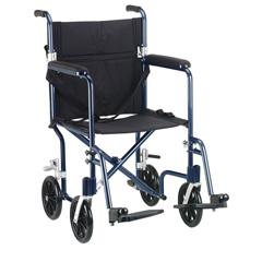 FW19BL - Drive MedicalFlyweight Lightweight Transport Wheelchair
