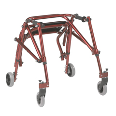 DRVKA2200S-2GCR - Inspired by Drive - Nimbo 2G Lightweight Posterior Walker with Seat