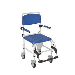 NRS185007 - Drive MedicalAluminum Shower Commode Mobile Chair
