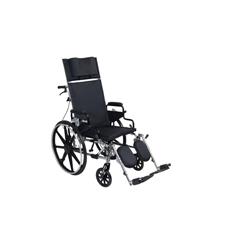 PLA418RBDDA - Drive Medical - Viper Plus GT Full Reclining Wheelchair, Detachable Desk Arms, 18 Seat