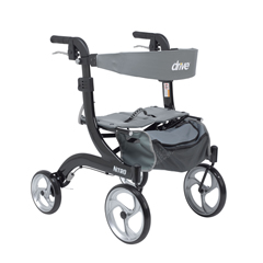 DRVRTL10266BK-H - Drive MedicalNitro Euro Style Walker Rollator, Petite, Black