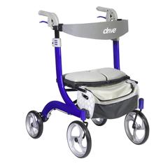 DRVRTL10266BL-HS - Drive MedicalNitro DLX Euro Style Walker Rollator