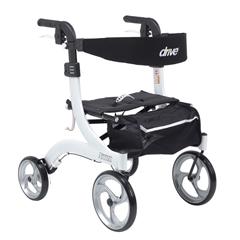 DRVRTL10266WT-H - Drive MedicalNitro Euro Style Walker Rollator, Petite, White
