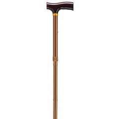 RTL10304BZ - Drive MedicalLightweight Adjustable Folding Cane with T Handle