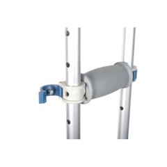 RTL10433 - Drive Medical - Knock Down Universal Aluminum Crutches, 1 Pair