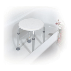 RTL12004KD - Drive Medical - Adjustable Height Bath Stool, White