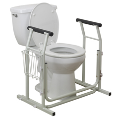 RTL12079 - Drive MedicalStand Alone Toilet Safety Rail