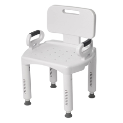 RTL12505 - Drive MedicalPremium Series Shower Chair with Back and Arms