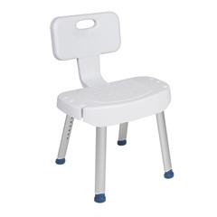 DRVRTL12606 - Drive MedicalBathroom Safety Shower Chair with Folding Back