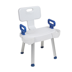 DRVRTL12606ARMS - Drive MedicalArms for Shower Chair with Folding Back
