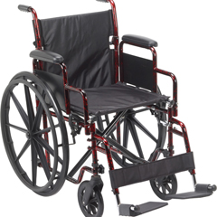 RTLREB18DDA-SF - Drive MedicalRebel Lightweight Wheelchair