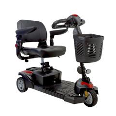 DRVSFDST3 - Drive Medical - Spitfire DST 3-Wheel Travel Scooter