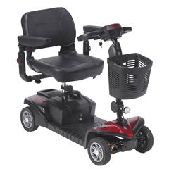 DRVSFDST4 - Drive MedicalSpitfire DST 4-Wheel Travel Scooter
