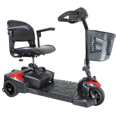 SFSCOUT3 - Drive MedicalScout Compact Travel Power Scooter, 3 Wheel