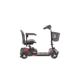 DRVSFSCOUT4-EXT - Drive Medical - Scout Compact Travel Power Scooter, 4 Wheel, Extended Battery