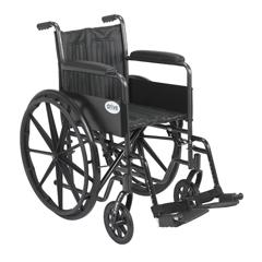 SSP216FA-SF - Drive MedicalSilver Sport 2 Wheelchair