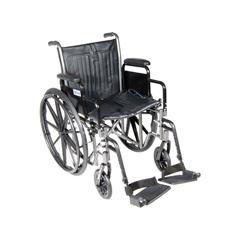 SSP218DDA-SF - Drive MedicalSilver Sport 2 Wheelchair