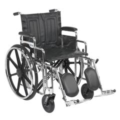 STD20DDA-ELR - Drive MedicalSentra Extra Heavy Duty Wheelchair