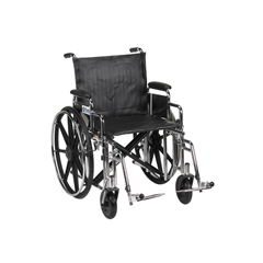STD20DDA-SF - Drive MedicalSentra Extra Heavy Duty Wheelchair