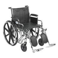 STD20ECDDAHD-ELR - Drive MedicalSentra EC Heavy Duty Wheelchair