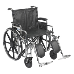 STD22DDA-ELR - Drive MedicalSentra Extra Heavy Duty Wheelchair