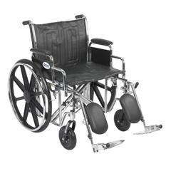 STD22ECDDA-ELR - Drive MedicalSentra EC Heavy Duty Wheelchair