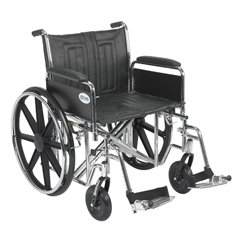 STD22ECDFA-SF - Drive MedicalSentra EC Heavy Duty Wheelchair