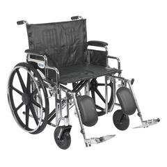 STD24DDA-ELR - Drive MedicalSentra Extra Heavy Duty Wheelchair