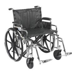 STD24DDA-SF - Drive MedicalSentra Extra Heavy Duty Wheelchair