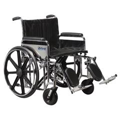STD24DFA-ELR - Drive MedicalSentra Extra Heavy Duty Wheelchair