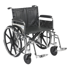 STD24DFA-SF - Drive MedicalSentra Extra Heavy Duty Wheelchair