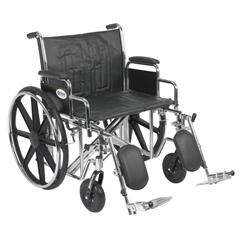 STD24ECDDA-ELR - Drive MedicalSentra EC Heavy Duty Wheelchair