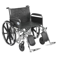 STD24ECDFA-ELR - Drive MedicalSentra EC Heavy Duty Wheelchair