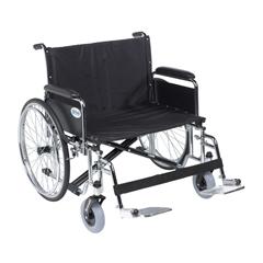 DRVSTD28ECDFA-SF - Drive MedicalSentra EC Heavy Duty Extra Wide Wheelchair