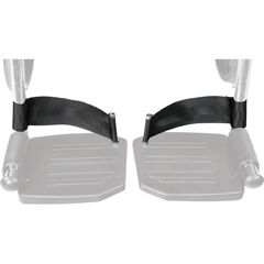 DRVSTDS831 - Drive MedicalHeel Loops for Swing Away Foot Rest