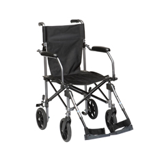 TC005GY - Drive MedicalTravelite Transport Wheelchair Chair in a Bag