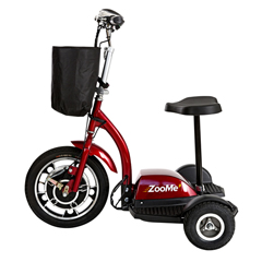 DRVZOOME3 - Drive Medical - ZooMe Three Wheel Recreational Power Scooter