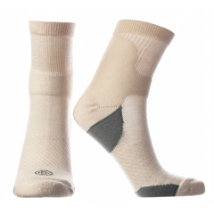 DTCDC-2092-M-PNK - IQ Brands - Doctors Choice Compression Low Crew Socks