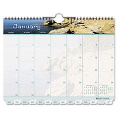 DTM113521601 - Day-Timer® Coastlines® Tabbed Wall Calendar