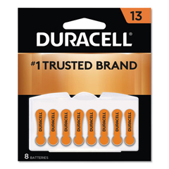 DURDA13B8ZM09 - Duracell® Hearing Aid Battery #13