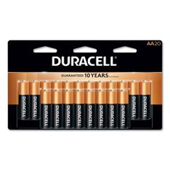 DURMN1500B20Z - Duracell® Coppertop® Alkaline AA Batteries