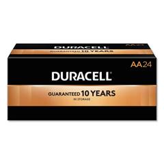 DURMN1500B24 - Duracell® Coppertop® Alkaline Batteries with Duralock Power Preserve Technology