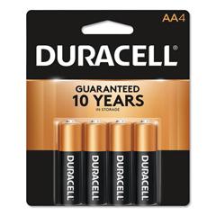 DURMN1500B4Z - Duracell® Coppertop® Alkaline AA Batteries