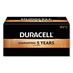 DURMN1604CT - CopperTop Alkaline Batteries, 9V, 72/CT