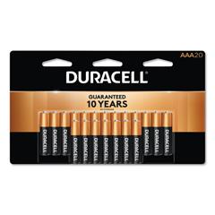 DURMN2400B20Z - Duracell® Coppertop® Alkaline AAA Batteries