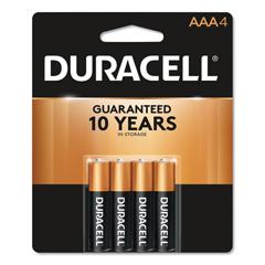 DURMN2400B4Z - Duracell® Coppertop® Alkaline AAA Batteries