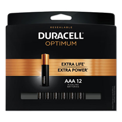 DUROPT2400B12PR - Duracell® Optimum Batteries, 12 EA/PK