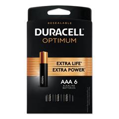 DUROPT2400B6PRT - Duracell® Optimum Batteries, 6 EA/PK