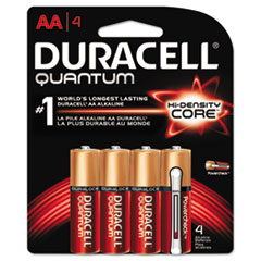 DURQU1500B4Z - Duracell® Quantum Alkaline Batteries with Power Preserve Technology™