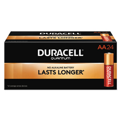 DURQU1500BKD - Duracell® Quantum Alkaline Batteries with Power Preserve Technology™